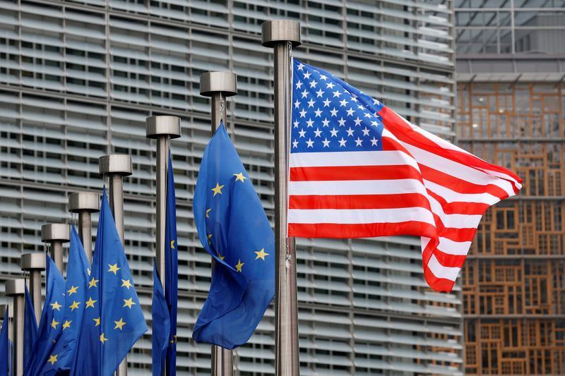 EU, U.S. say they can partner to hold China to account on 'trade-distorting policies'