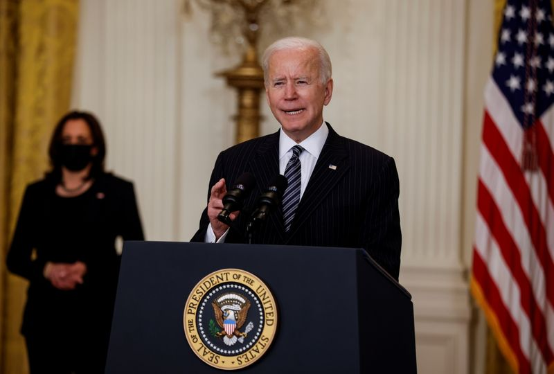 Biden to send 20 million doses of U.S.-authorized vaccines abroad for first time