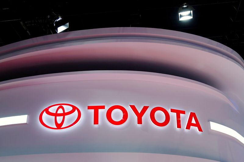 Toyota Motor powers to record high with cyclical shares back in demand