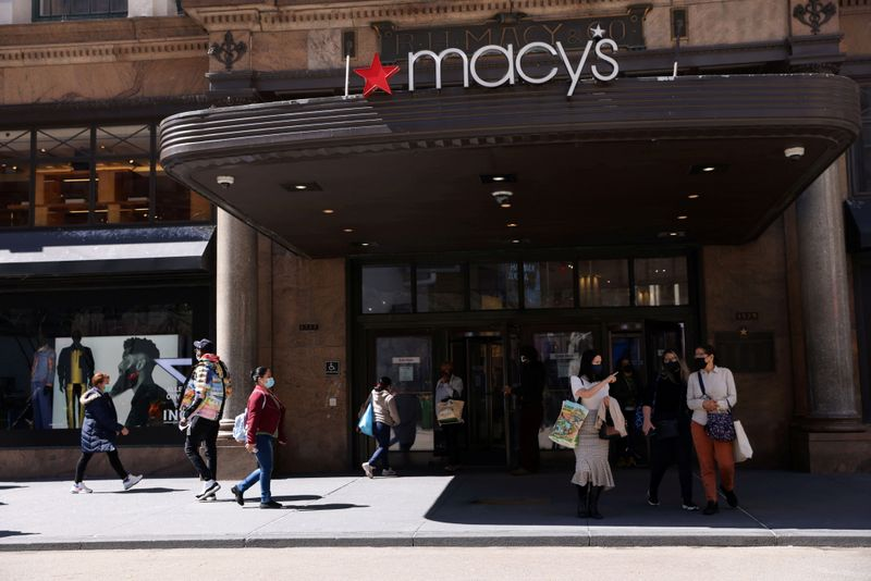 Macy's raises annual sales, earnings forecast as stores reopen