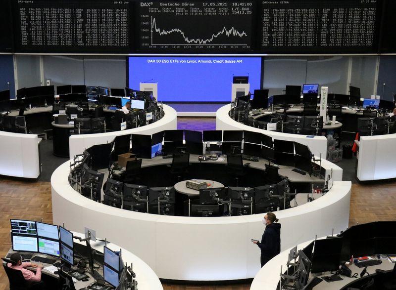مؤشر الأسهم الأوروبية يرتفع بدعم من تفاؤل بإعادة الفتح والأسهم الألمانية تسجل مستوى قياسيا