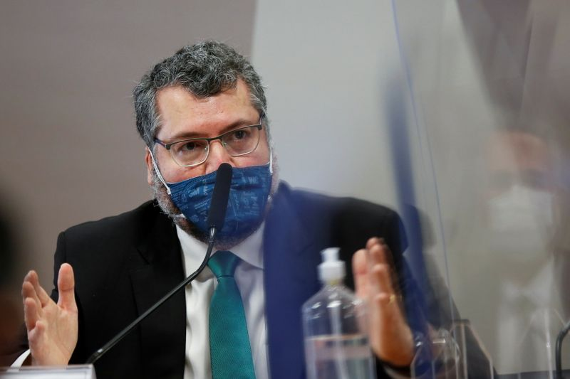 Em depoimento a CPI, Araújo diz que Itamaraty seguiu orientação do Ministério da Saúde na pandemia