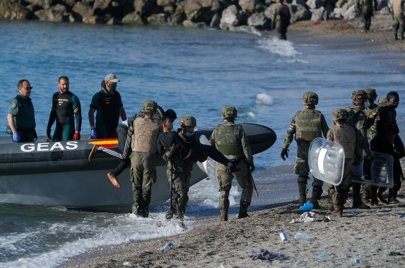 Spain speeds up Ceuta expulsions after migrant tide from Morocco ebbs By Reuters