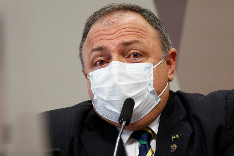Pazuello diz que não foi pressionado para aprovar uso de cloroquina contra Covid-19