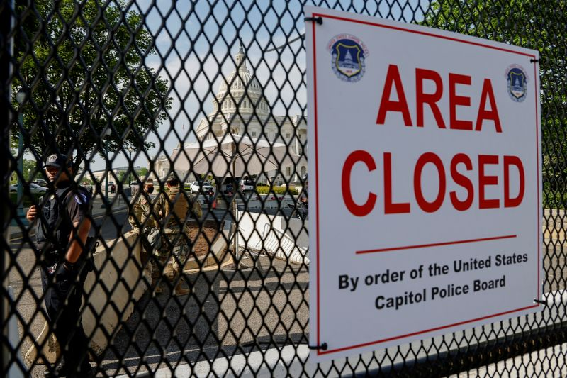 National Guard troops expect to leave U.S. Capitol next week - officials