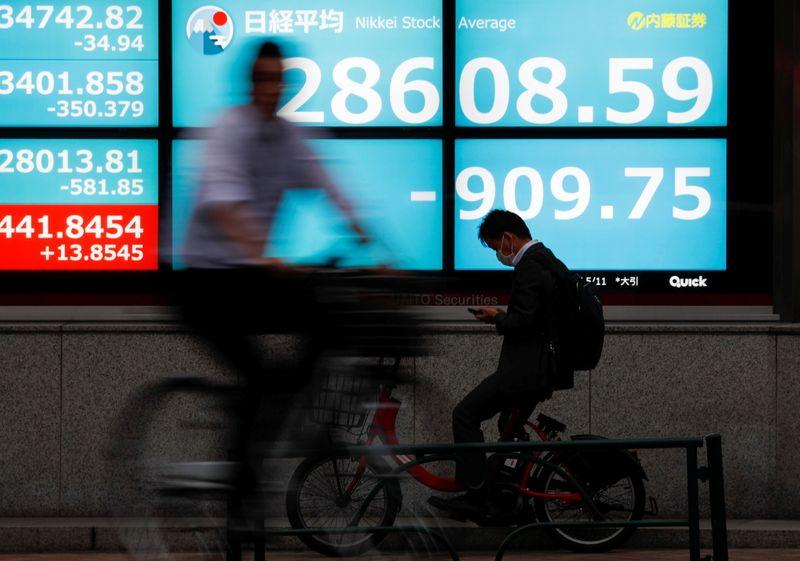 المؤشر نيكي ينخفض 0.60% في بداية التعاملات في طوكيو