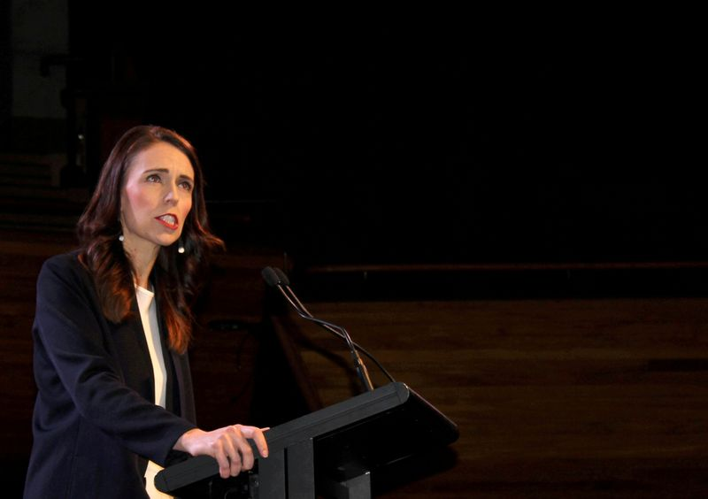 New Zealand's Ardern delivers welfare boost in annual budget as economy rebounds