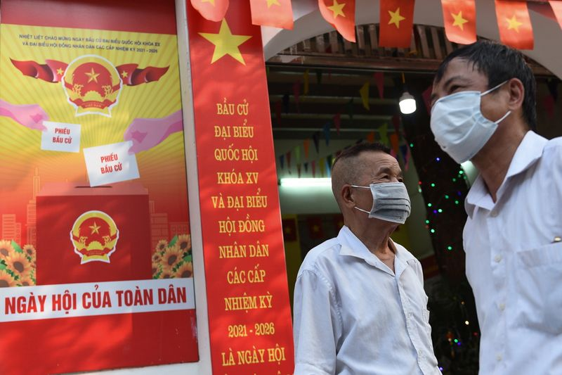 Fewer independents vie for Vietnam's Communist Party-dominated assembly