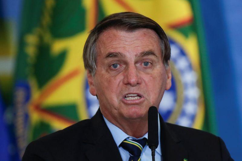 CPI da Covid é um vexame nacional, diz Bolsonaro