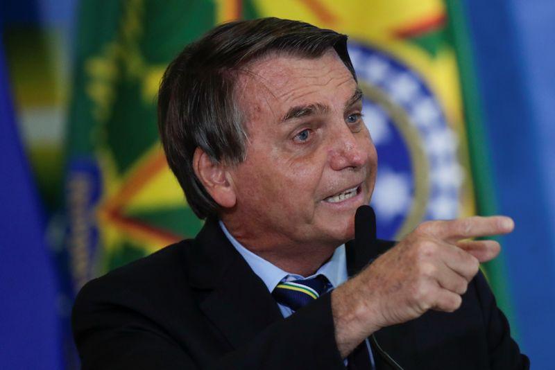 Bolsonaro diz que eleição de 2022 já tem chapa com