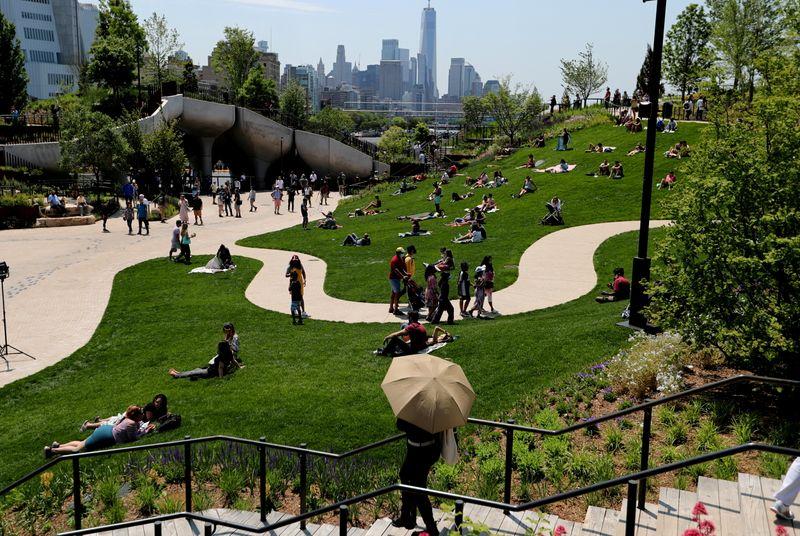Little Island, a park built by a billionaire, further transforms Manhattan's West Side