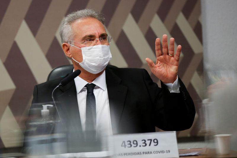ENTREVISTA-Tudo indica que se apostou na imunidade de rebanho; Bolsonaro nunca quis vacina, diz Renan