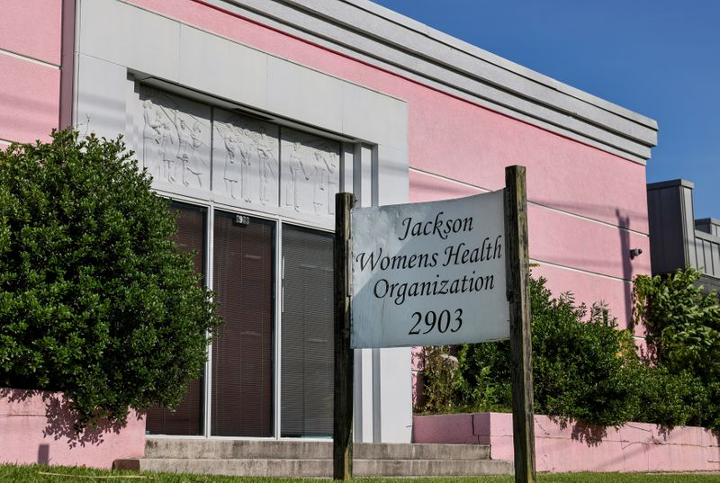 Mississippi's 'Pink House' becomes ground zero in U.S. abortion battle