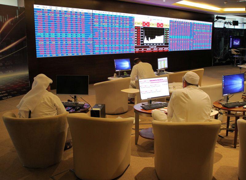خسائر واسعة للأسهم القطرية؛ وصعود مؤشر أبوظبي
