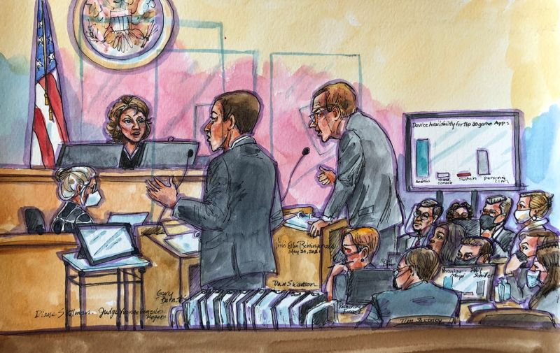 At Epic v Apple's closing, judge probes implications of upending Apple's App Store By Reuters thumbnail