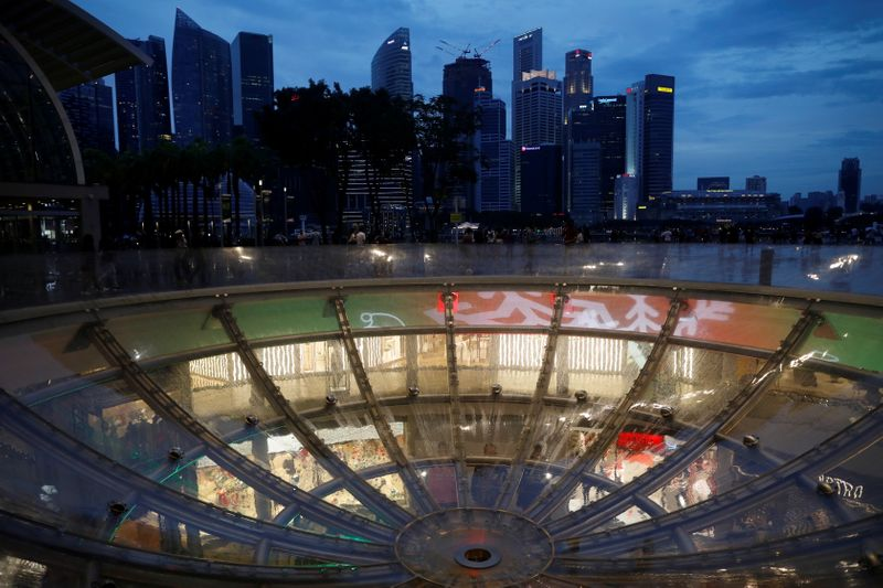 Singapore sees uneven recovery after Q1 GDP tops forecasts