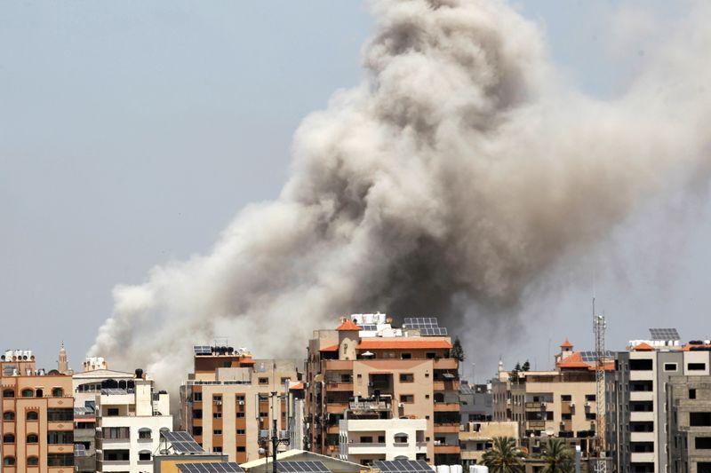 Blinken announces U.S. aid to Gaza, pledges to reopen Jerusalem consulate