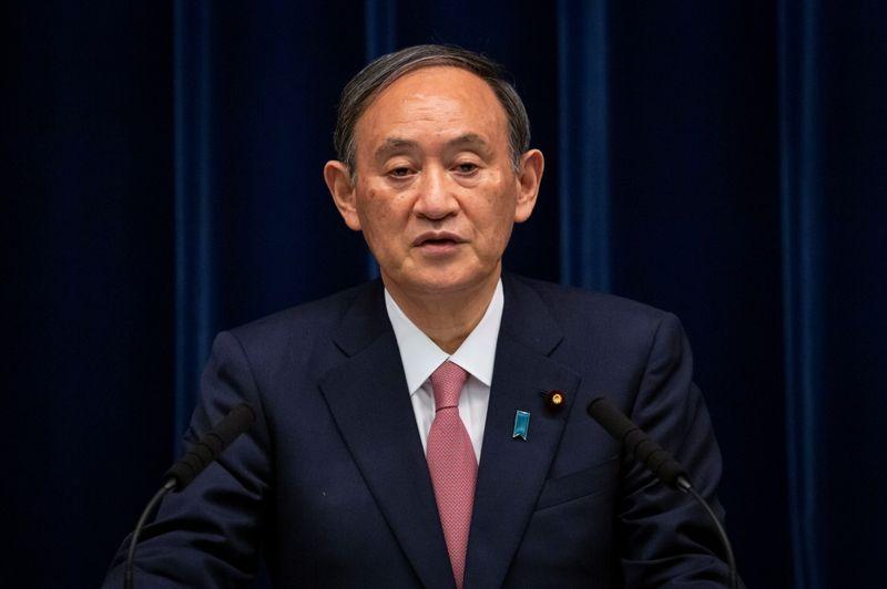 Japan's Suga says government will stick to pledge on balancing budget