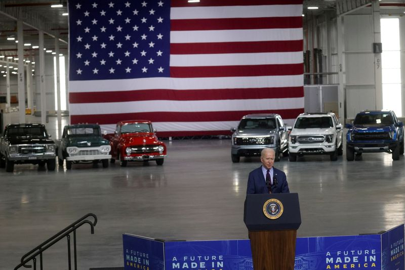 Exclusive: Biden looks abroad for electric vehicle metals, in blow to U.S. miners