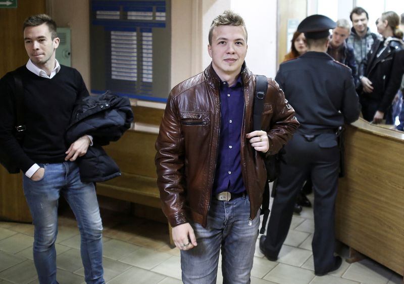 Airlines re-route to avoid Belarus, opposition says journalist beaten