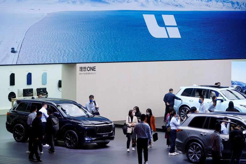 China's EV maker Li Auto expects month-to-month gross sales to achieve 10,000 automobiles in September By Reuters