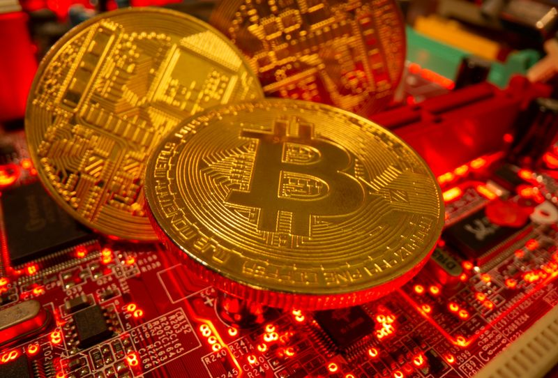 Bitcoin edges back from $40,000 as volatility lingers