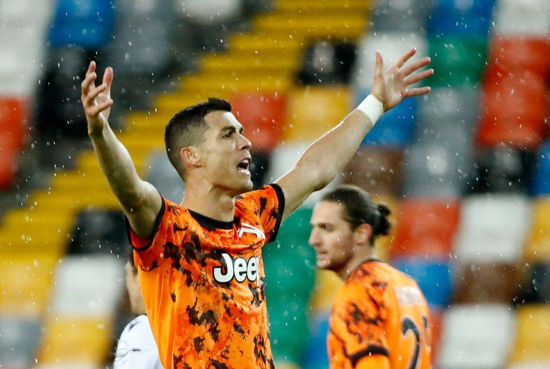 Cristiano Ronaldo porte la Juventus face à l'Udinese
