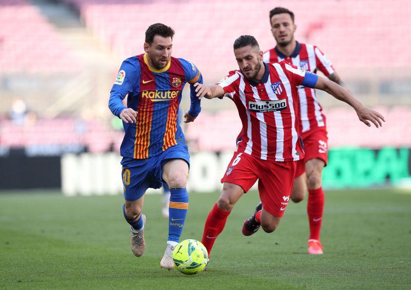 Après son match nul à Barcelone, l'Atlético Madrid conserve la tête de la Liga