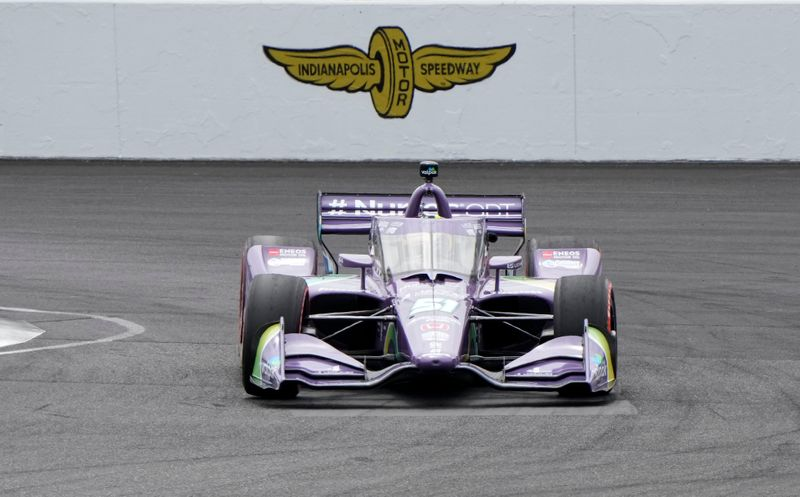 Premier podium pour Grosjean en Indycar