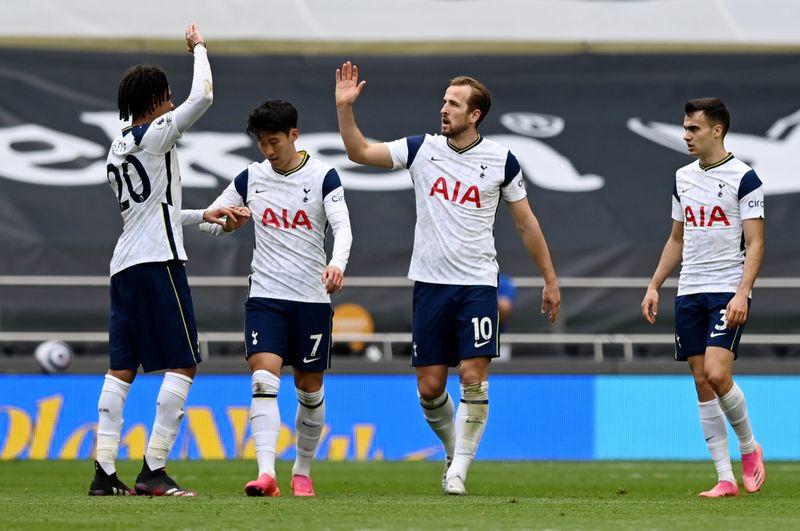 Tottenham domine les Wolves et remonte à la 6e place