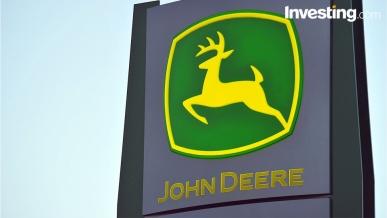 John Deere shares jump as Q2 to April earnings beat estimates