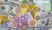 اسعار اليورو والاسترليني والذهب تشهد ضعفاً مقابل الدولار