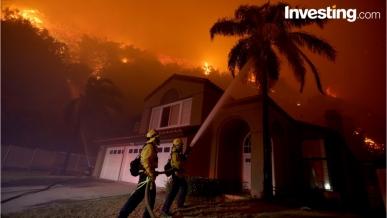 N. California Fires Kills 40, Damages Billions In Property