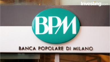Banco Bpm ritraccia dopo raddoppio utili 2018. Unicredit in crescita