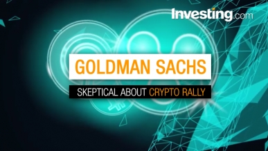 Goldman Sachs: 'Further Declines' Will Follow Crypto Rally
